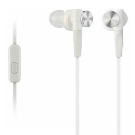 Sony MDR-XB50AP - Casti audio in-ear,  Control Telefon, Extra Bass - alb