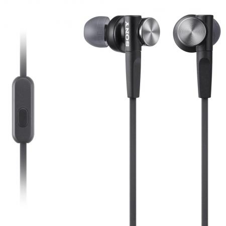 Sony MDR-XB50AP - Casti audio in-ear,  Control Telefon, Extra Bass - negru