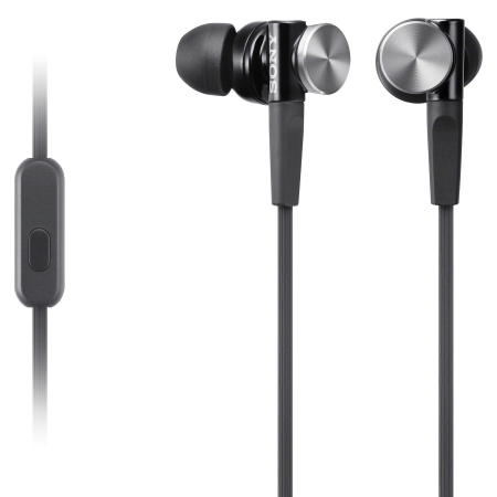 Sony MDR-XB70AP - Casti audio in-ear,  Control Telefon, Extra Bass - negru cu argintiu