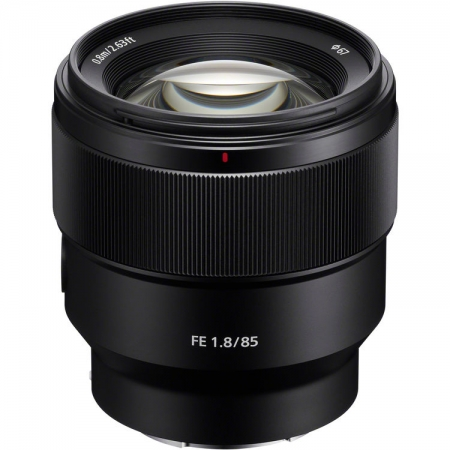 Sony Obiectiv 85mm f/1.8, Sony FE, negru