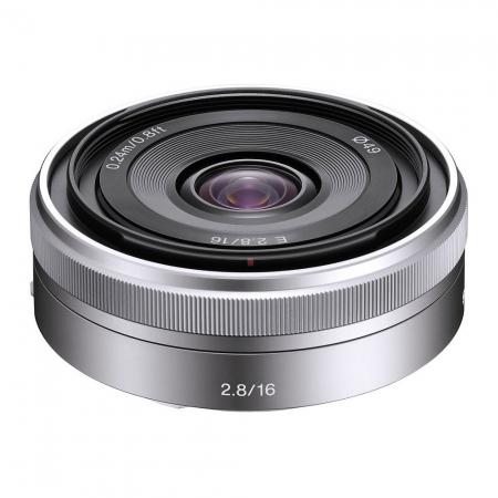 Sony Obiectiv pentru seria NEX 16mm F2.8 Cod SEL16F28 RS1039519