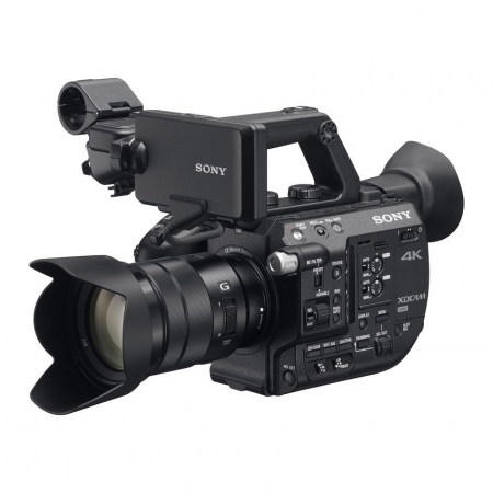 Sony PXW-FS5K kit cu Sony E PZ 18-105mm f/4 G OSS - Super 35