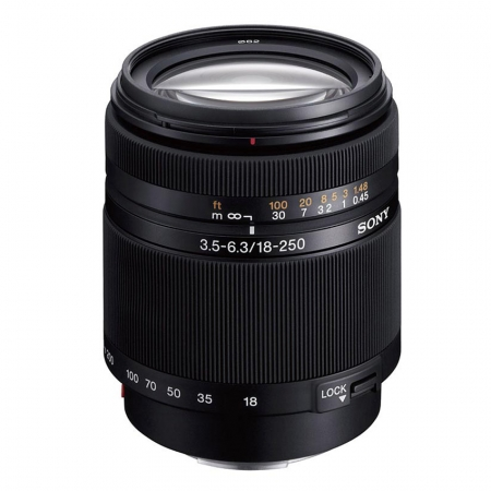 Sony SAL-18250 DT 18-250mm f/3.5-6.3 - obiectiv  AF super zoom pentru aparatele Sony / Minolta