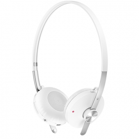Sony SBH60 - Casca bluetooth stereo, NFC, Multi-Point, A2DP, cablu cu mufa 3.5mm inclus, butoane control apeluri, Alb