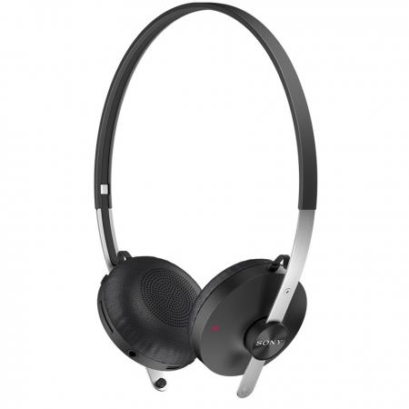 Sony SBH60 - Casca bluetooth stereo, NFC, Multi-Point, A2DP, cablu cu mufa 3.5mm inclus, butoane control apeluri, Negru