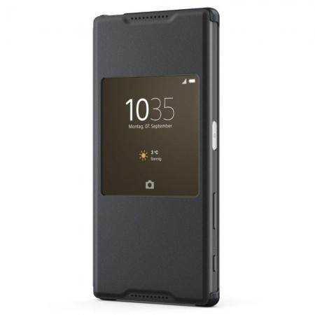Sony SCR42 Husa piele eco flip s-view activa -  Sony Xperia Z5