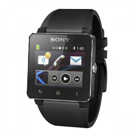 Sony SW2 SmartWatch 2 - ceas inteligent negru silicon