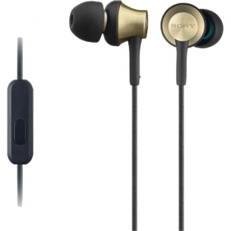Sony The Brass - Casti In-Ear Stereo, Auriu