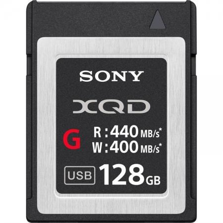 Sony XQD Seria G, 128GB, 440MB/s citire, 400MB/s scriere