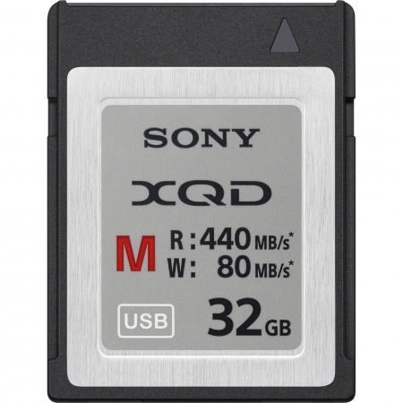 Sony XQD Seria M, 32GB, 440MB/s citire, 80MB/s scriere