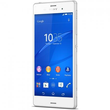 "Sony Xperia Z3-HD TRILUMINOS 5.2"" Quad-core 2.5 GHz 3 GB RAM 16 GB  4G Alb"