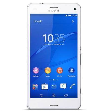"Sony Xperia Z3 compact – HD 4.6"" Quad-core 2.5 GHz 2 GB RAM 16gb 4G alb"