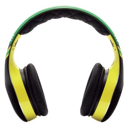 Soul SL300 Elite Jam HD - Casti On-Ear, negru/verde