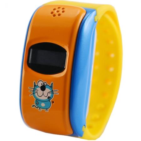 Star City - Smartwatch pentru copii, GPS, Galben