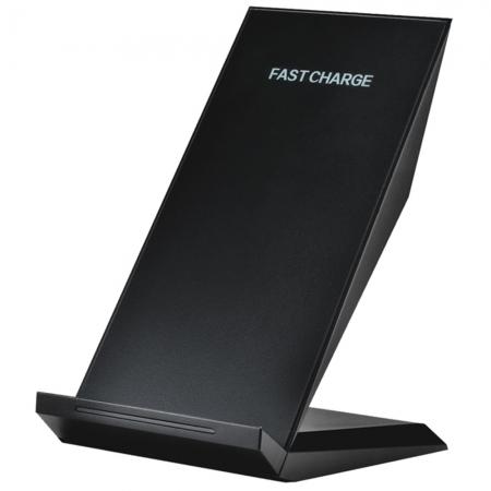 Star - Dock wireless cu incarcare rapida, Negru