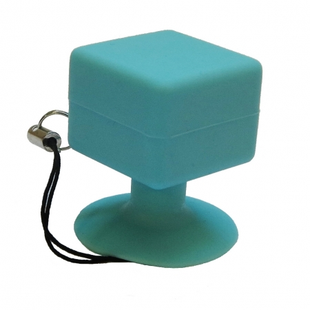 Suport telefon universal cu ventuza - albastru