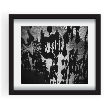 Between light & shadow - Tablou 40x60cm Gina Buliga 08