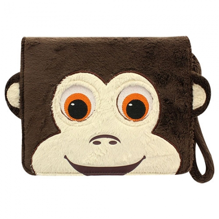 Tabzoo Monkey - Husa universala tip agenda cu aplicatie inclusa pentru tablete pana in 10