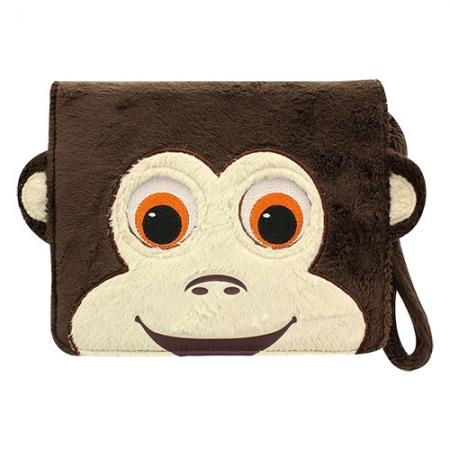 Tabzoo Monkey - Husa universala tip agenda cu aplicatie inclusa pentru tablete pana in 8