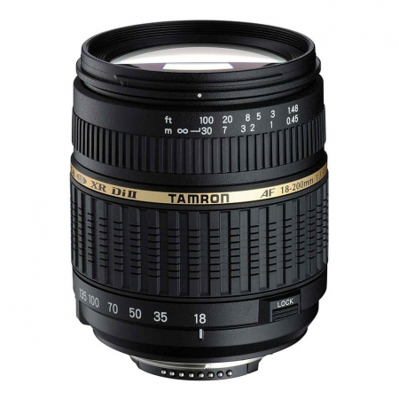 Tamron AF-S 18-200mm f/3.5-6.3 XR Di II LD Aspherical IF Macro - Nikon