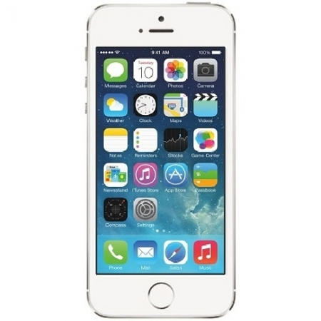 Telefon mobil Apple iPhone 5S, 16GB, argintiu