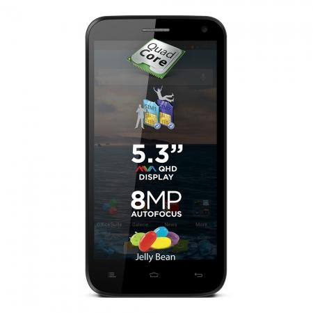 Telefon mobil Allview Dual-Sim P5 Qmax, negru