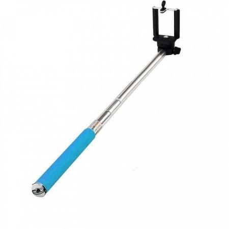 Tellur TL7-5W - Selfie stick Bluetooth, albastru