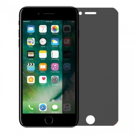 Tempered Glass - Folie protectie sticla securizata, privacy, Full 3D pentru iPhone 7