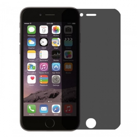 Tempered Glass - Folie protectie sticla securizata, privacy pentru iPhone 6/ 6s