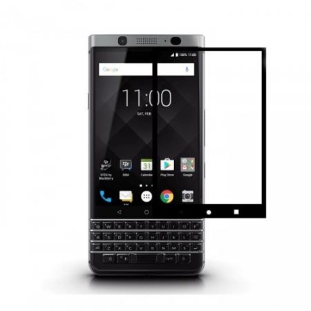 Tempered Glass Folie protectie sticla securizata Blackberry KeyOne, 3D Negru