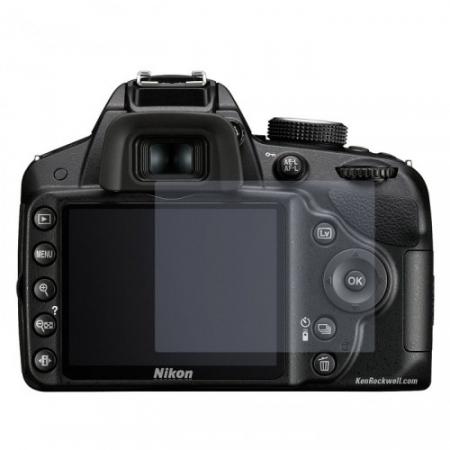 Tempered Glass - Folie protectie sticla securizata pentru Nikon D3200