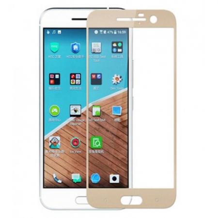 Tempered Glass Folie sticla securizata pentru HTC 10 Gold