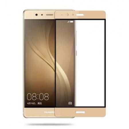 Tempered Glass Folie sticla securizata pentru Huawei P9 - Gold