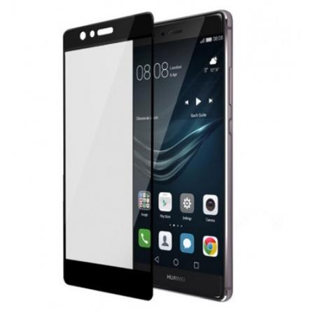 Tempered Glass Folie sticla securizata pentru Huawei P9 - Negru