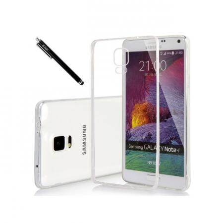 Tempered Glass - Husa Slim Samsung Galaxy Note 4