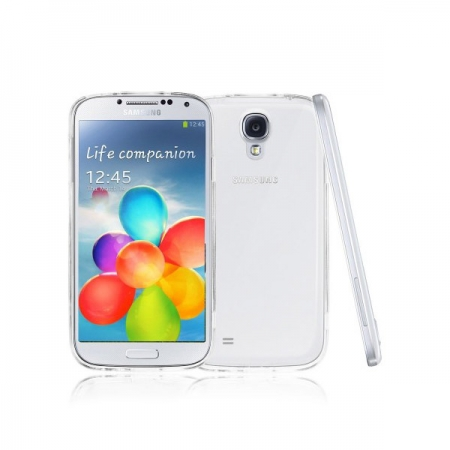 Tempered Glass - Husa Slim Samsung Galaxy S4