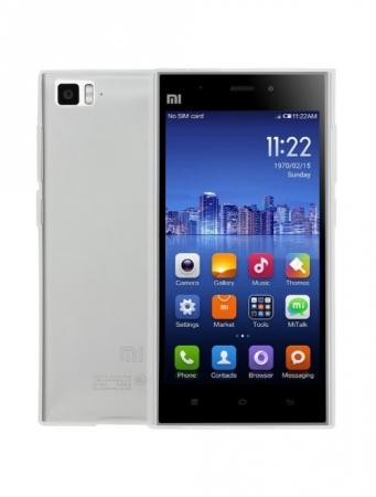 Tempered Glass -  Husa de protectie Slim TPU pentru Xiaomi Mi3, Transparenta