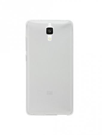 Tempered Glass - Husa de protectie Slim TPU pentru Xiaomi Mi4, Transparenta