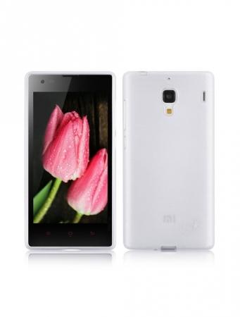 Tempered Glass - Husa de protectie Slim TPU pentru Xiaomi Redmi 1S, Transparenta