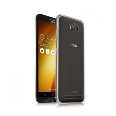 Tempered Glass - Husa protectie slim TPU pentru Asus ZenFone Max, Transparenta