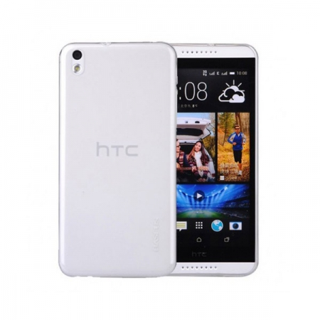 Tempered Glass - husa slim HTC Desire 816 - transparenta
