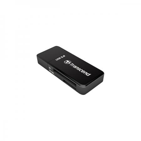 Transcend RDF5K - Cititor card USB 3.0 pentru SD/microSD UHS-I