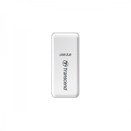 Transcend RDP5W - Cititor card USB 2.0 pentru SD/microSD