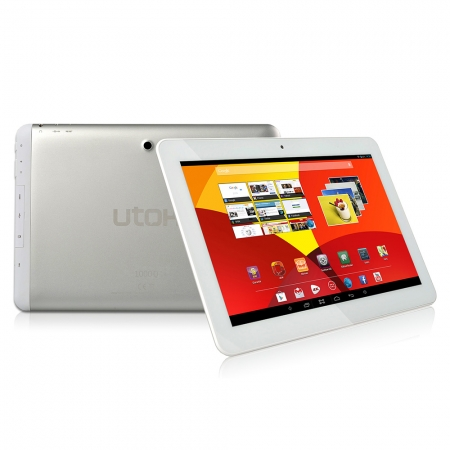 Tableta Utok 1000Q - o alternativă mai ușoară la laptop, grație adaptorului USB-MicroUSB UTOK-1000Q-alba-tableta-10-1-inch-IPS--16GB--Wi-Fi-29699-1