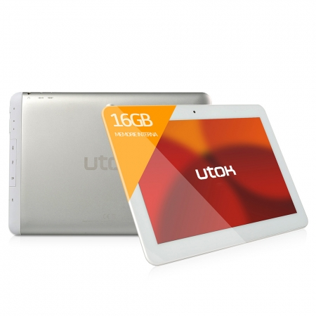 UTOK 1000Q alb - tableta 10.1 inch IPS, 16GB, Wi-Fi