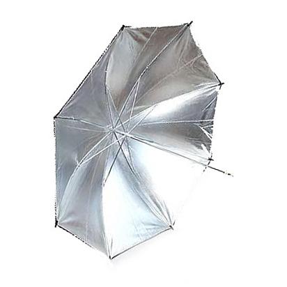 Umbrela Reflexie Silver/Black 80cm WOS3004 /33 BLK