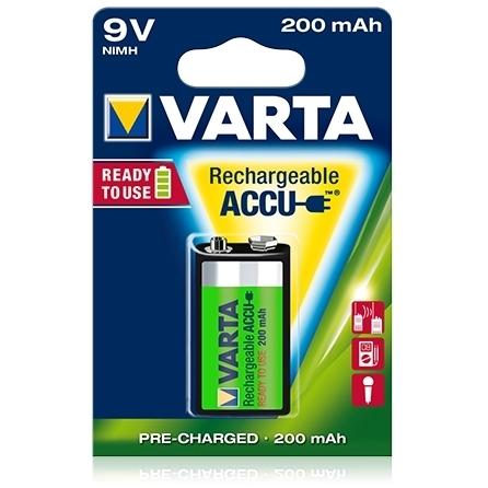 Varta - Acumulator reincarcabil 9V 200 mAh