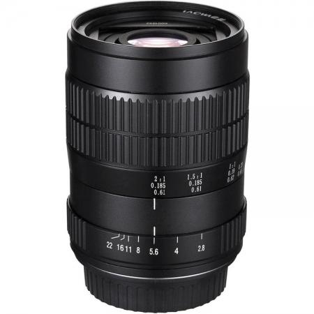 Venus Optics Laowa 60mm f/2.8 2X Ultra-Macro - montura Nikon FX, negru