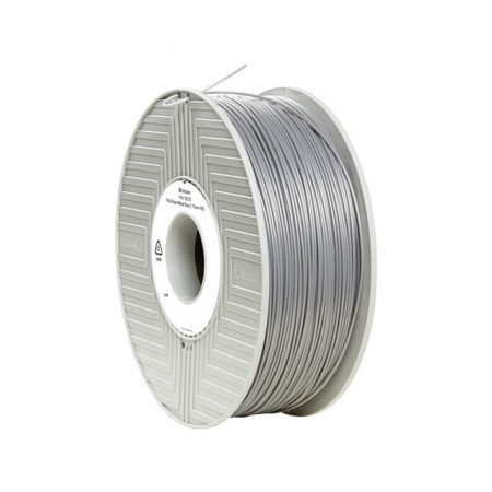 Verbatim Filament Printer 3D PLA 1,75mm 1kg argintiu / gri metalic