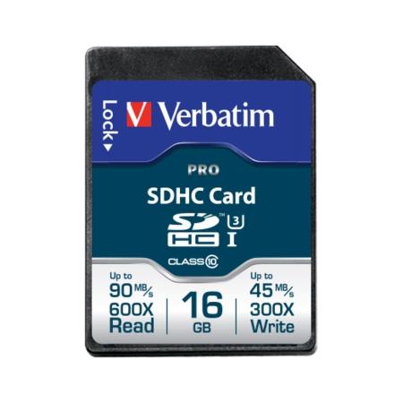 Verbatim Pro SDHC U3 16GB Clasa 10